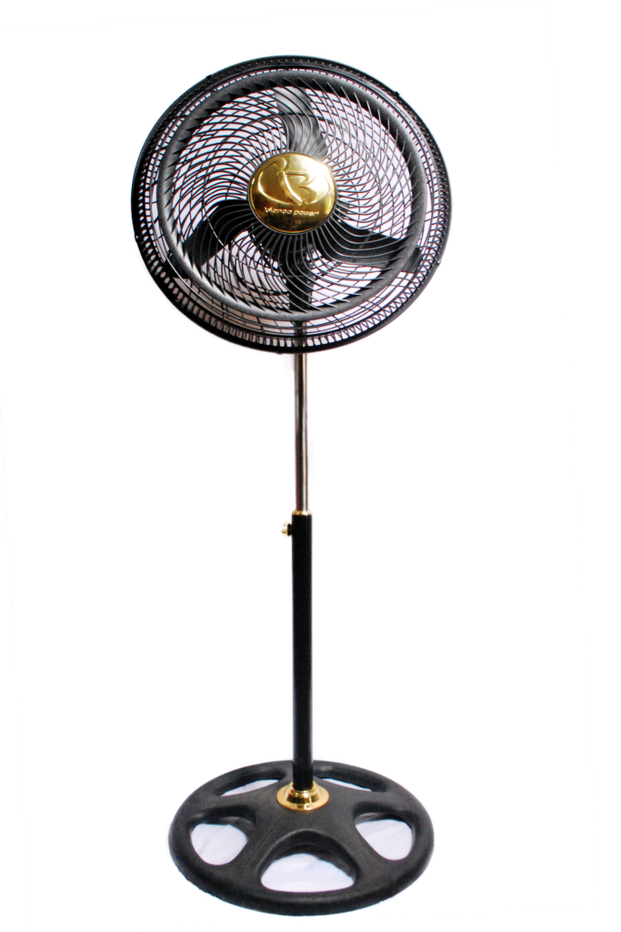 09 Black 18″ inches Pedestal Fan